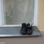 Schuh anziehen-